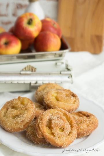 Rezept Apfelballen / Apfelkrapfen