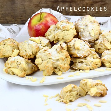 Rezept Apfelcookies