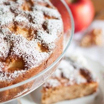 Rezept Apfelkuchen mit Haselnüssen