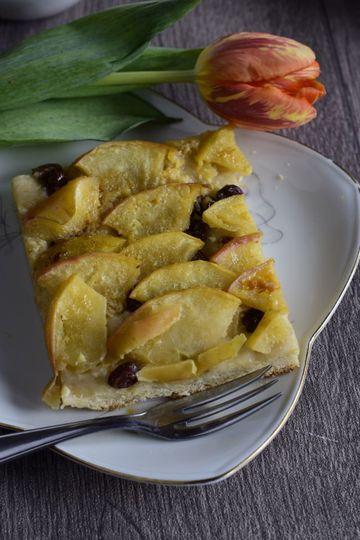 Rezept Apfelkuchen mit Hefedinkelteig und Wumms