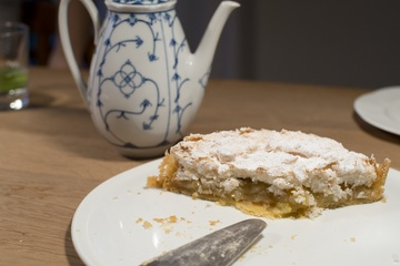 Rezept Apfelkuchen mit Kokos Baiser