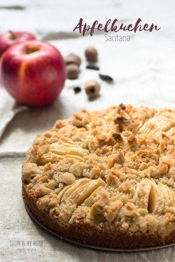 Rezept Apfelkuchen mit Santana-Äpfeln