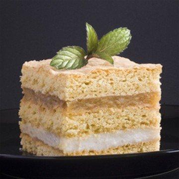 Rezept Apfelkuchen mit Vanillepudding