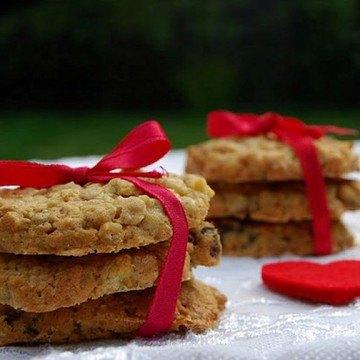 Rezept Apfelkuchen-Rosinen-Calvados-Kekse