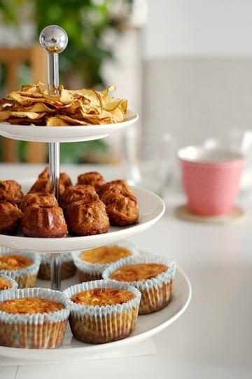 Rezept Apfelmuffins & Karotten-Nuss-Gugel
