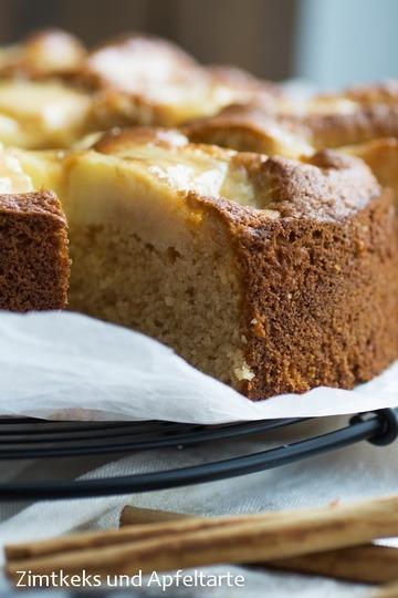 Rezept Apfelmus-Mandel-Kuchen mit Äpfeln