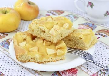 Rezept Apfelmuskuchen