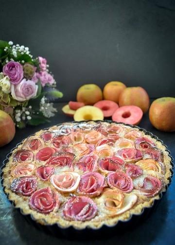 Rezept Apfelrosen Tarte