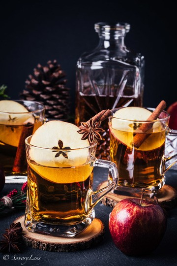 Rezept Apple Cider Hot Toddy