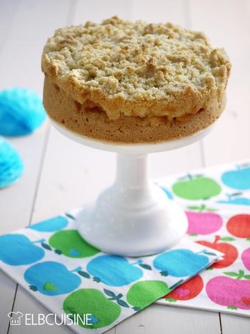 Rezept Apple Crumble in Kuchenform – krümelig, knusprig, fruchtig…