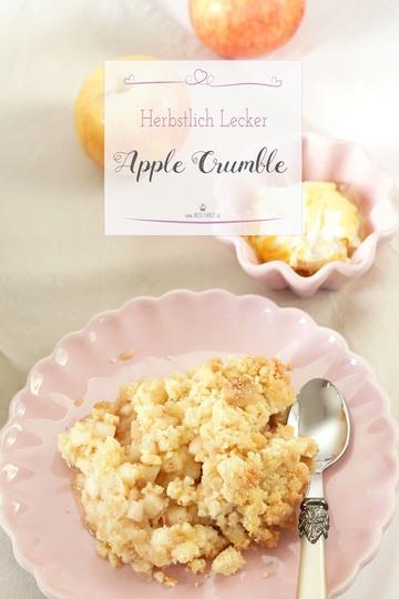 Rezept Apple Crumble und Apfelkuchengewürz