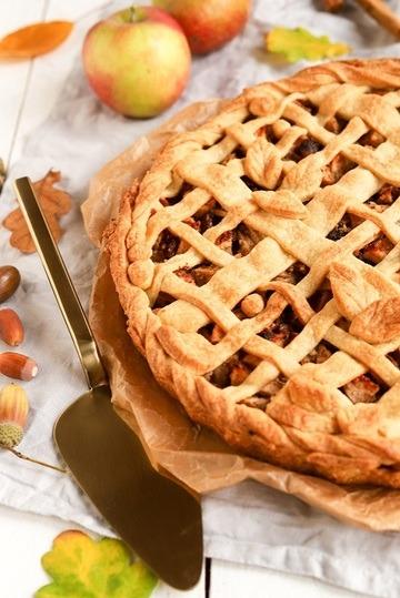 Rezept Apple Pie mit Mürbeteig-Gitter