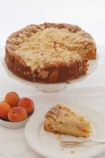 Rezept Aprikosen-Eierlikör-Streuselkuchen