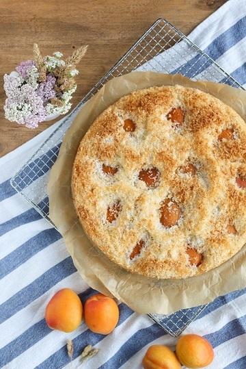 Rezept Aprikosen-Kokos-Kuchen