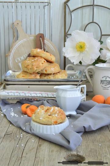 Rezept Aprikosen Marzipan Buns