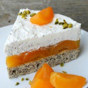 Rezept Aprikosen-Mohn-Torte