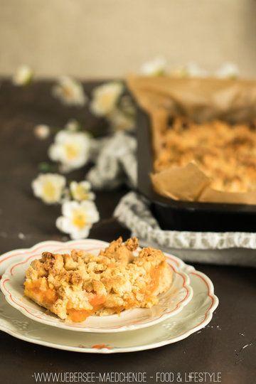 Rezept Aprikosen-Streuselkuchen mit ganz vielen Streuseln