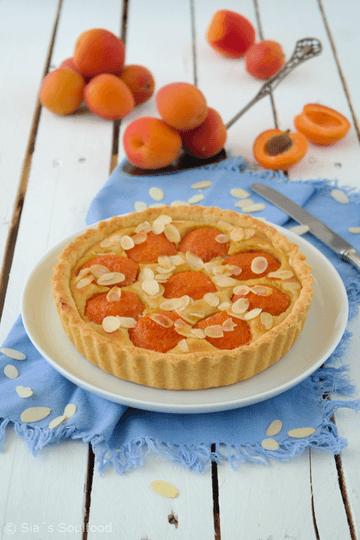 Rezept Aprikosen-Tarte mit Mandeln