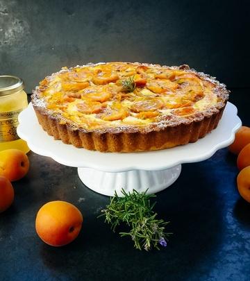 Rezept Aprikosen Tarte mit Rosmarin