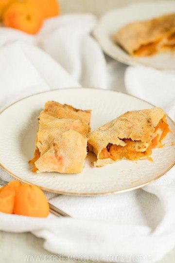 Rezept Aprikosenstrudel mit selbstgemachtem Teig