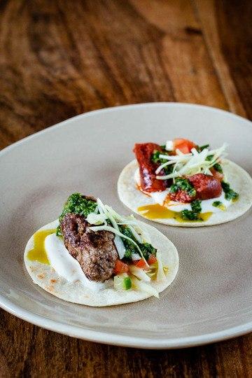 Rezept Arabische Tacos mit Köfte und Merguez