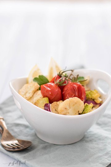 Rezept Aromatisch gerösteter Blumenkohlsalat