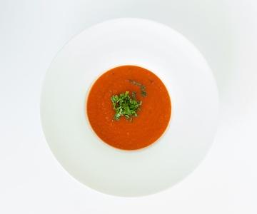 Rezept aromatische Tomatensuppe