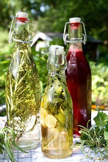 Rezept Aromatisierte Essige