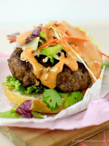 Rezept Asia Burger – mein asiatisches Frikadellenbrötchen