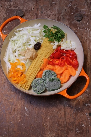 Rezept Asian One Pot Pasta