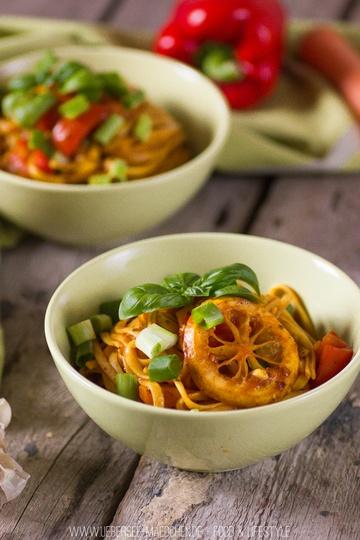 Rezept Asiatische One-Pot-Pasta (vegan)