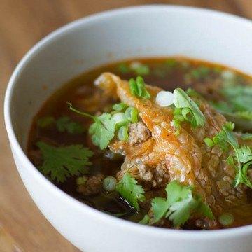 Rezept Asiatische Suppe mit selbstgemachtem Kimchi