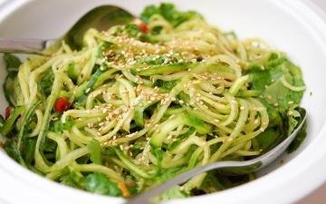 Rezept Asiatischer Gurken Nudel Salat