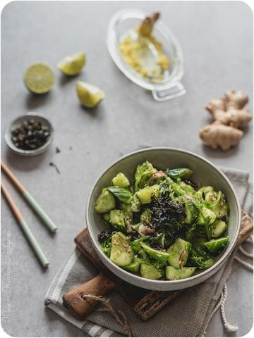 Rezept Asiatischer Gurkensalat mit Wakame