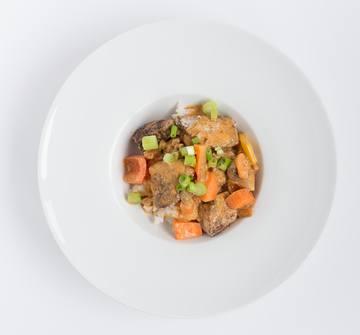 Rezept Asiatisches Huhn mit Erdnusssauce