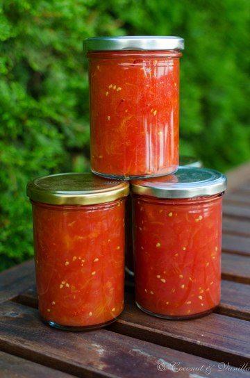 Rezept Auf Vorrat: Stückige Tomaten