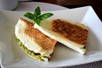 Rezept Avocado-Bohnen-Quesadillas