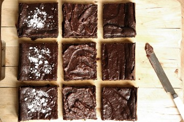 Rezept Avocado Brownies (vegan)