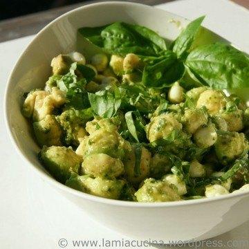 Rezept Avocado-Mozzarella Salat