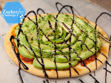 Rezept Avocado-Pizza