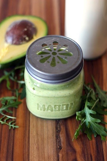 Rezept Avocado Rucola Smoothie