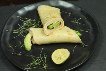 Rezept Avocado-Schinken-Wraps
