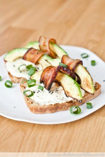 Rezept Avocado-Speck-Toast