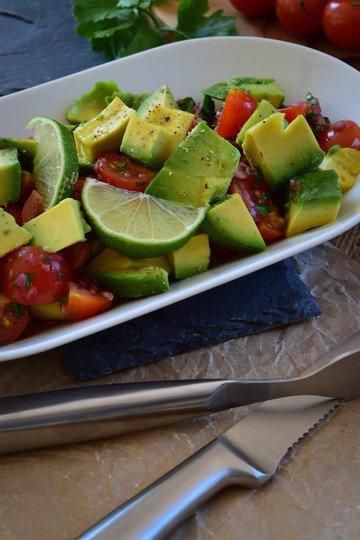 Rezept Avocado Tomaten Salat