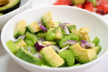 Rezept Avocado- und Sellerie-Salat