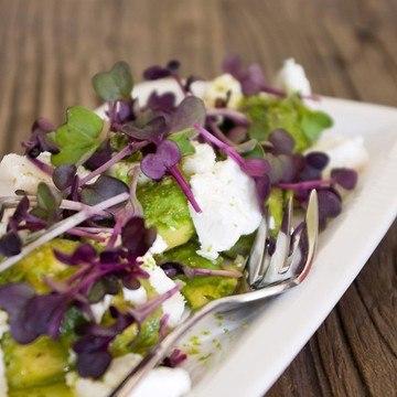 Rezept Avocado-Ziegenkäse-Salat