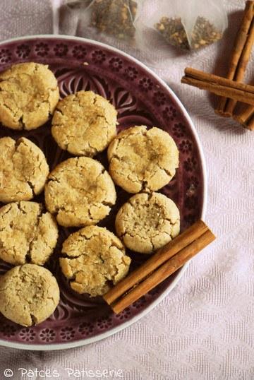 Rezept Ayurvedische Chai Tee Cookies