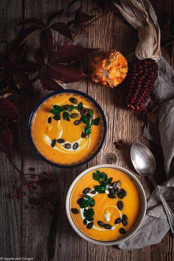 Rezept Ayurvedische Kürbis-Apfel-Suppe