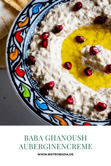 Rezept Baba Ghanoush - Auberginencreme