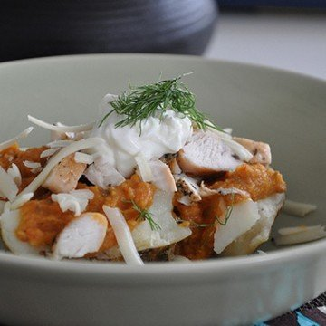 Rezept Backkartoffel